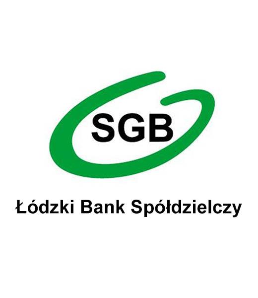 Łódzki bank spółdzielczy Logo